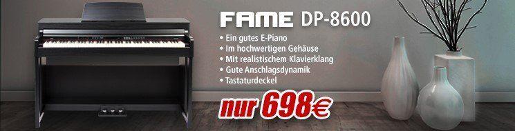 Musicstore - E-Piano FAME DP-8600