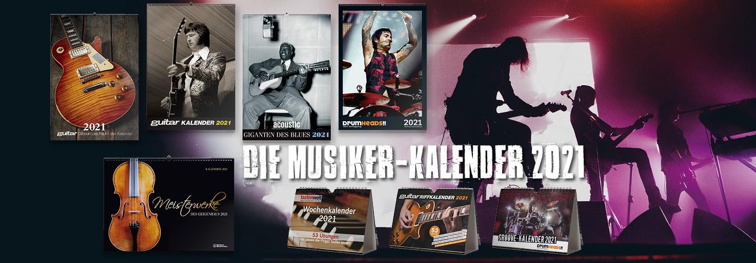 Aktuelle Musikerkalender