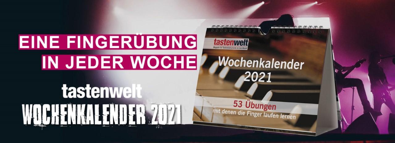 Tastenwelt Wochenkalender 2021
